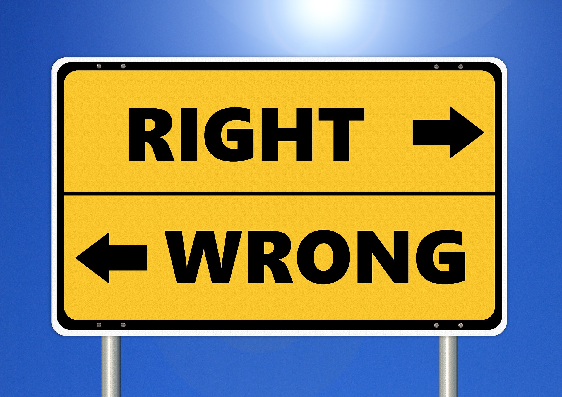 values, right, wrong, behaviors