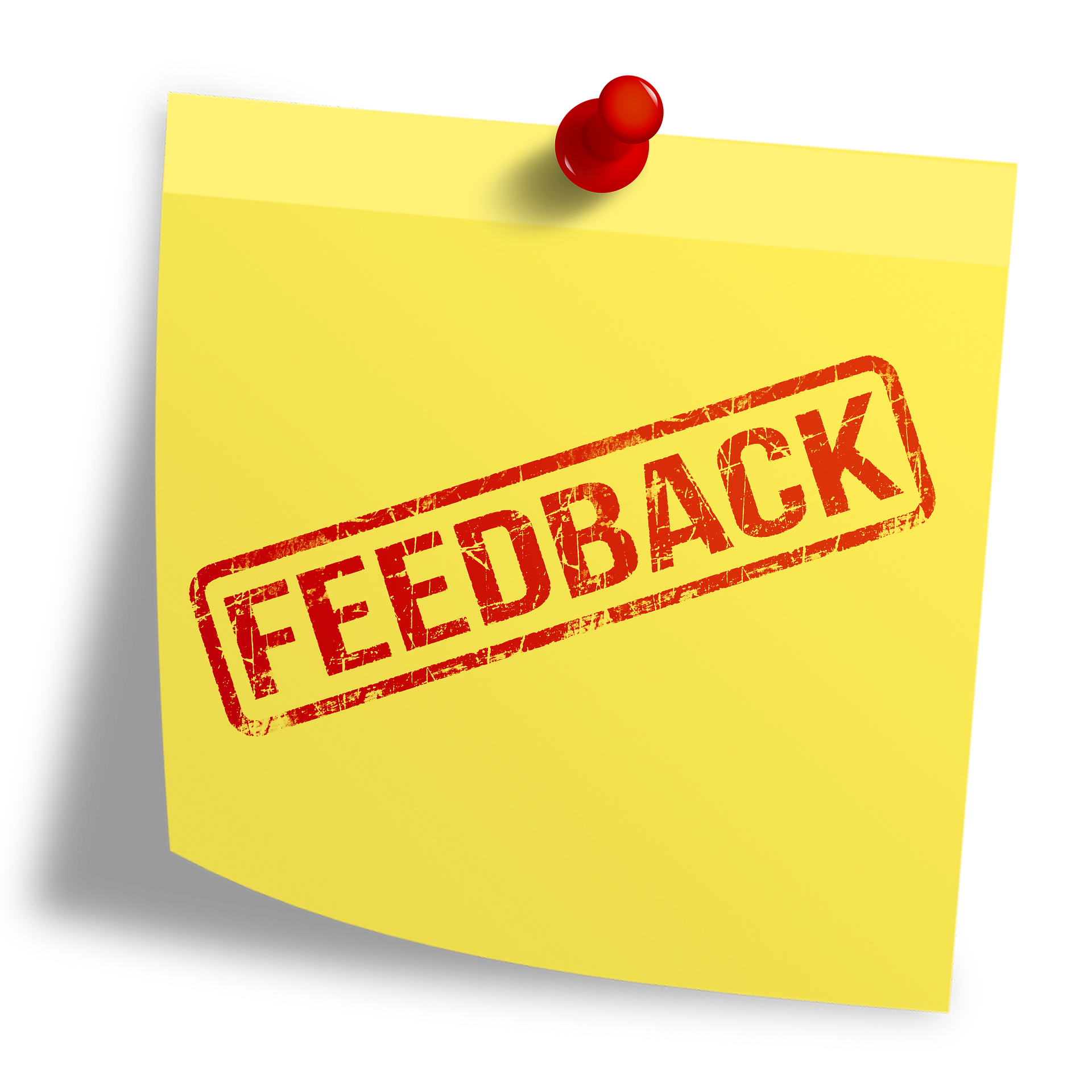 feedback map, feedback, sticky note
